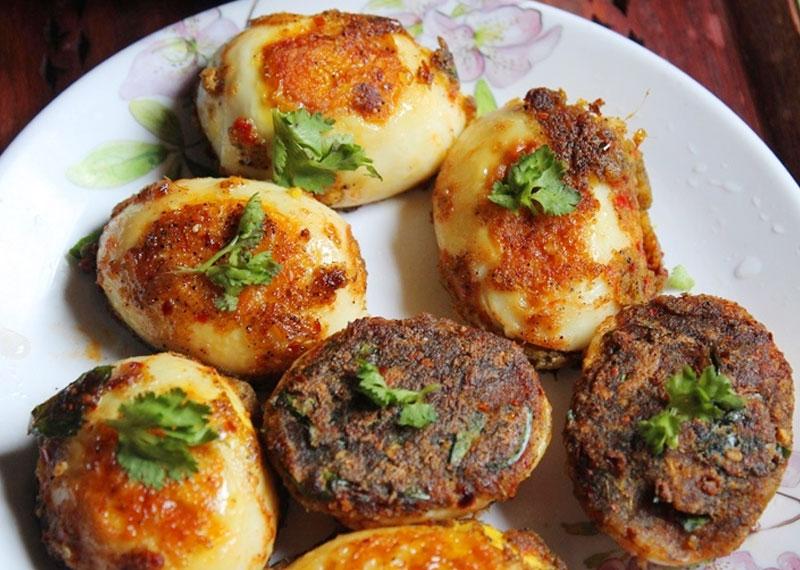 Egg Pepper Fry Recipe