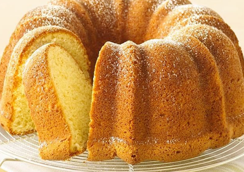 How to Make European Pound Cake Recipe