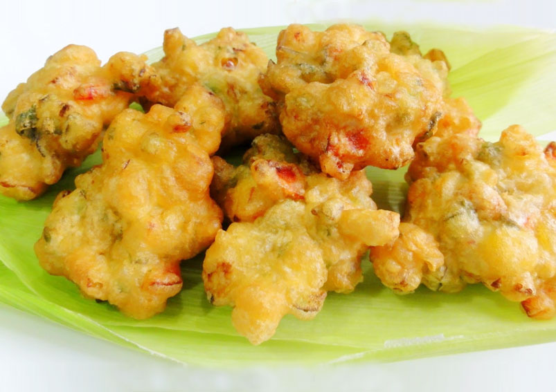 Fresh Corn Pakora Recipe