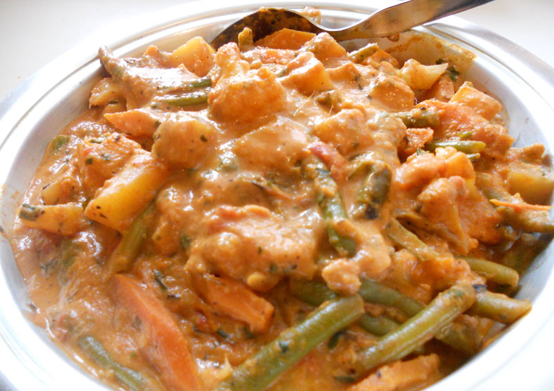 Goan vegetable recipe mixed vegetable curry yummy food recipes goan vegetable curry recipe forumfinder Image collections