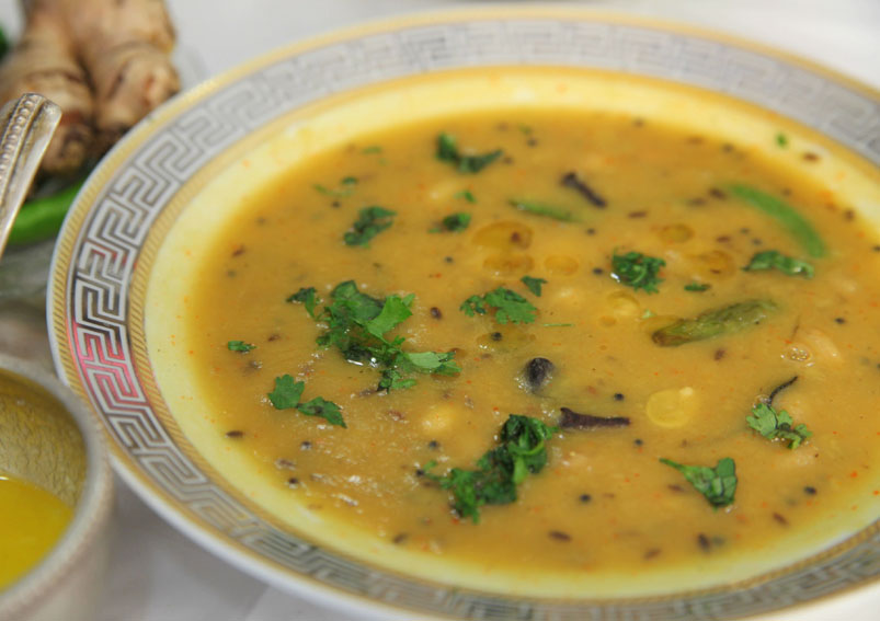 Gujarati Khatti Meethi Dal Recipe
