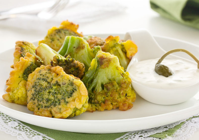 Healthy Broccoli Fritters Recipe