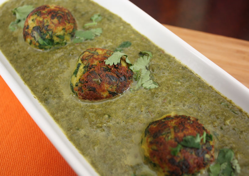 Healthy Spinach Kofta Curry Recipe