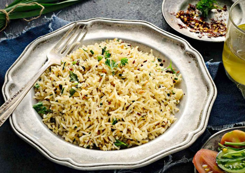 Herb Rice with Mushroom Recipe
