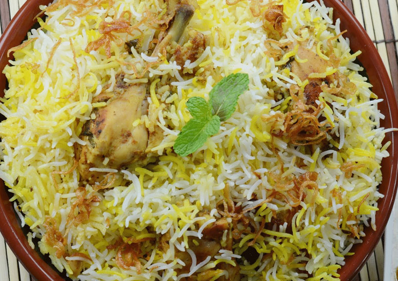 Easy Hyderabadi Style Chicken Biryani Recipe