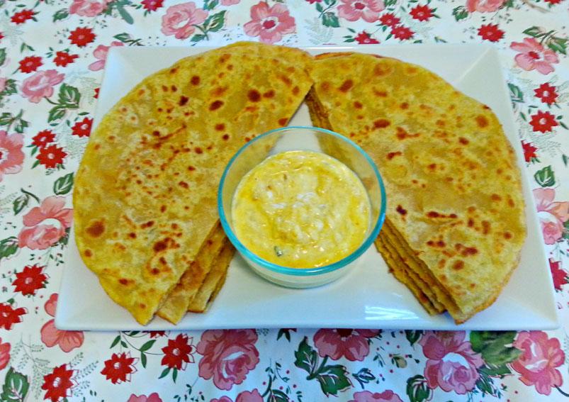 Tasty Lauki Ka Paratha Recipe