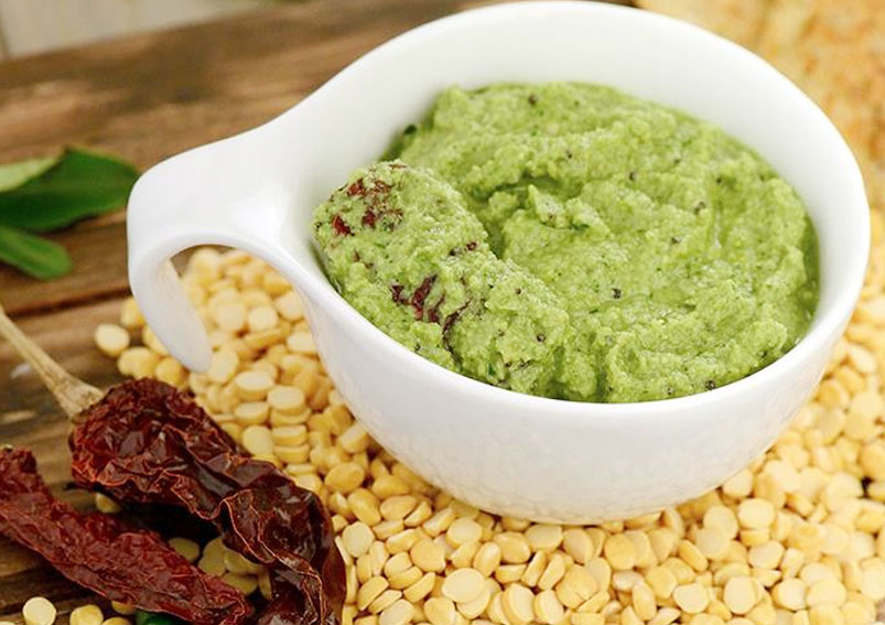 Low-Calorie Green Chutney Recipe