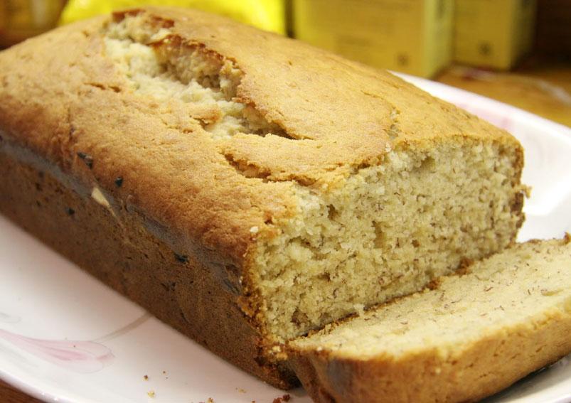 Tasty Banana Cake Recipe