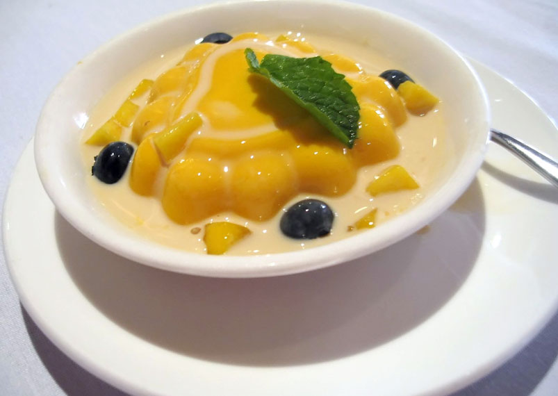 Tasty Mango Pudding Recipe