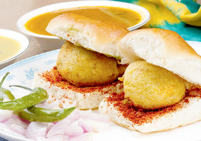Vada Pav - Mumbai Special - Indian Food Recipes