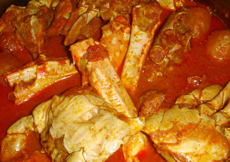Mardi Gras Special Indian Crab Curry Recipe