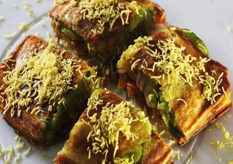 Tasty Masala Toast Recipe