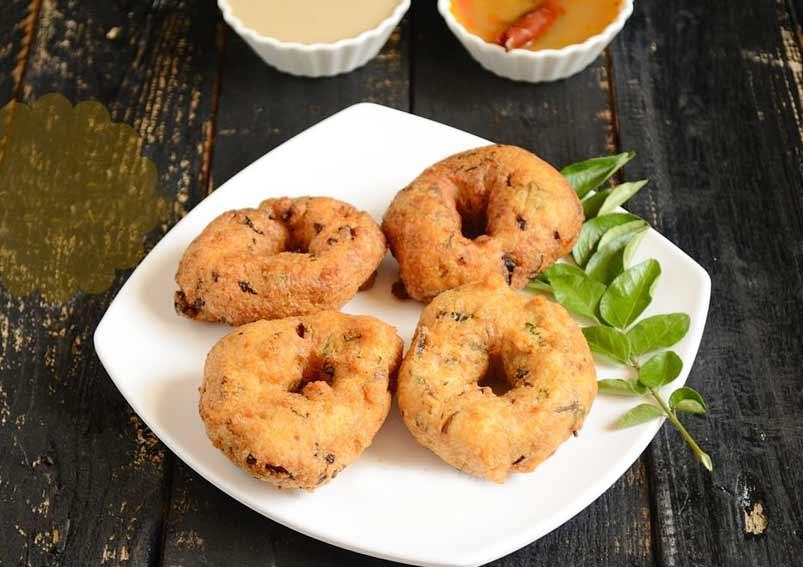 Dussehra Special Mixed Lentil Garelu Vada Recipe