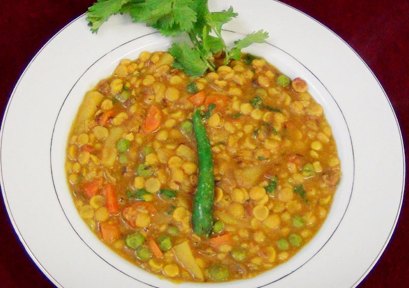 Mixed Vegetable Dal Recipe