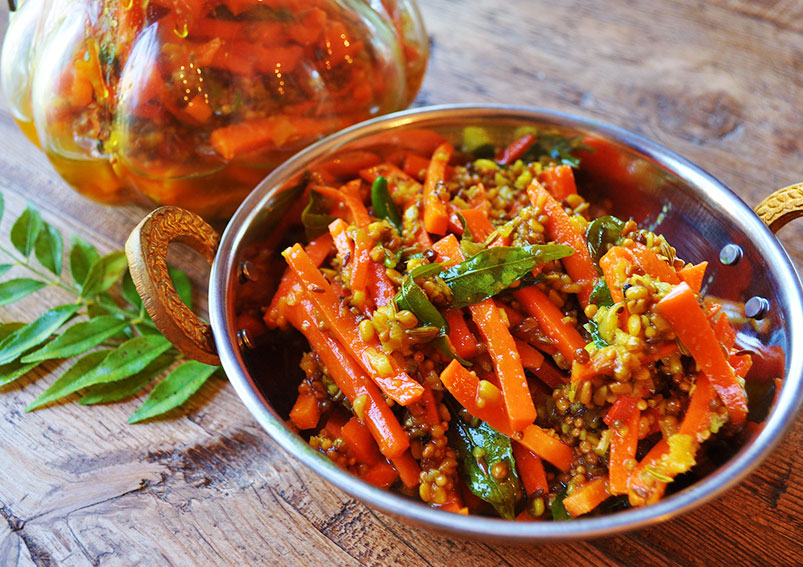 Mixed Vegetable Pickle Recipe