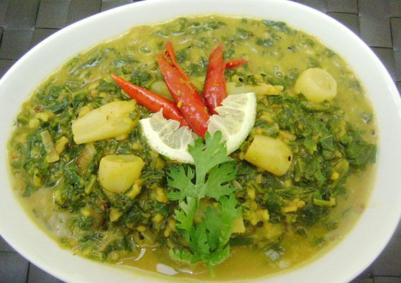 Mooli Moong Dal Recipe