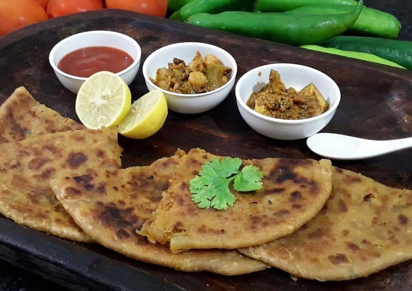 Yummy Yellow Moong Dal Paratha Recipe