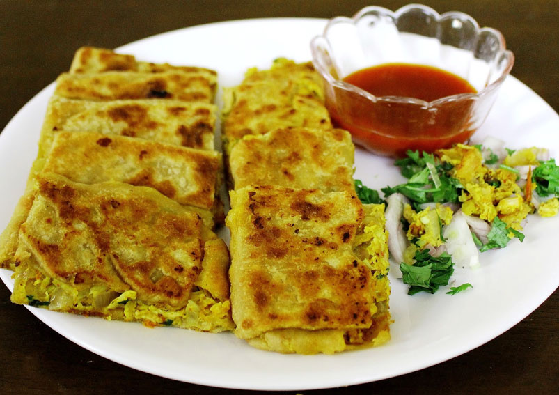 Homemade Mughlai Paratha Recipe