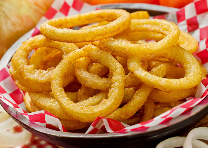 How to make crispy onion rings recipe tasty snacks recipes delicious and easy onion rings recipe forumfinder Choice Image