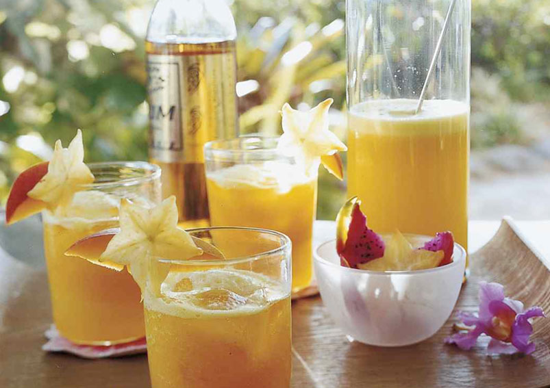 Pineapple Mango Cocktail Recipe