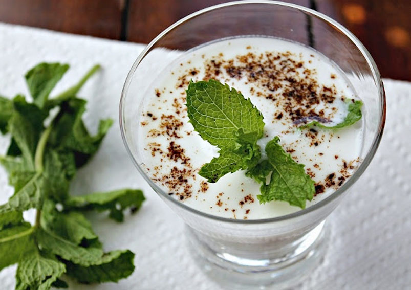 Plain Salted Lassi Recipe