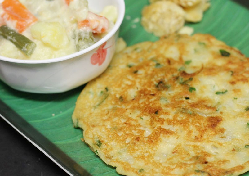 How to Prepare Potato Adai Recipe