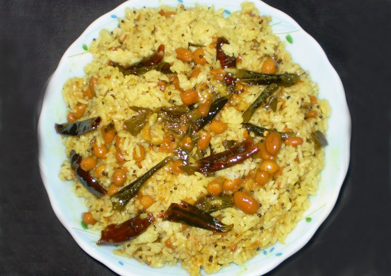 South Indian Special Puliyogare Recipe