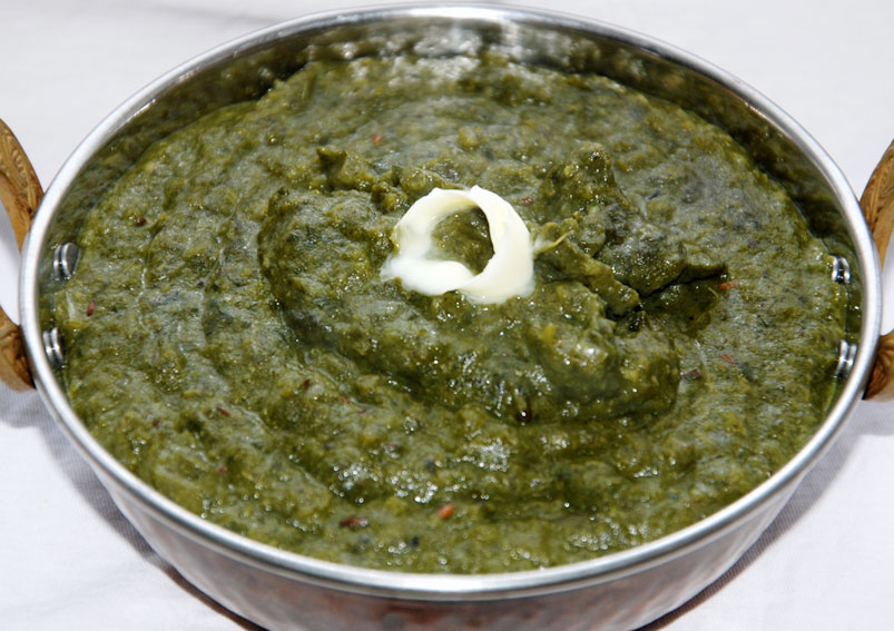 Sarson Ka Saag (mustard green curry) Recipe