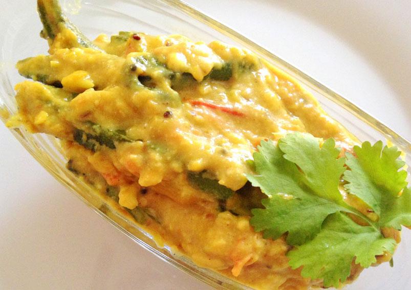 Shahi Bhindi - Yummy Food Recipe