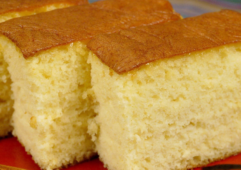 Sponge Vanilla Cake Recipe without Egg