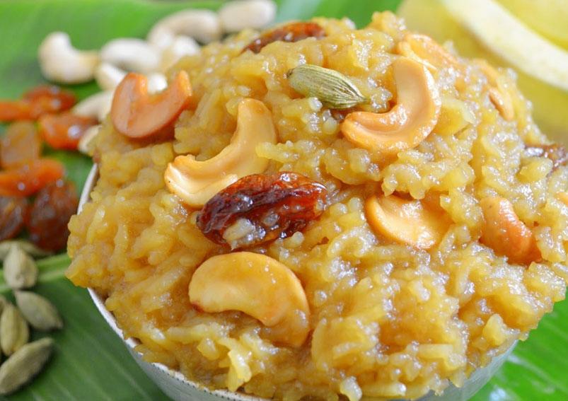 Varalakshmi Vratham Special Sweet Pongal Recipe Yummyfoodrecipes In