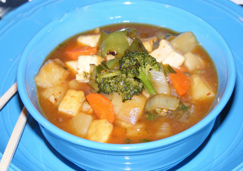 Sweet and Sour Vegetable Stew Recipe