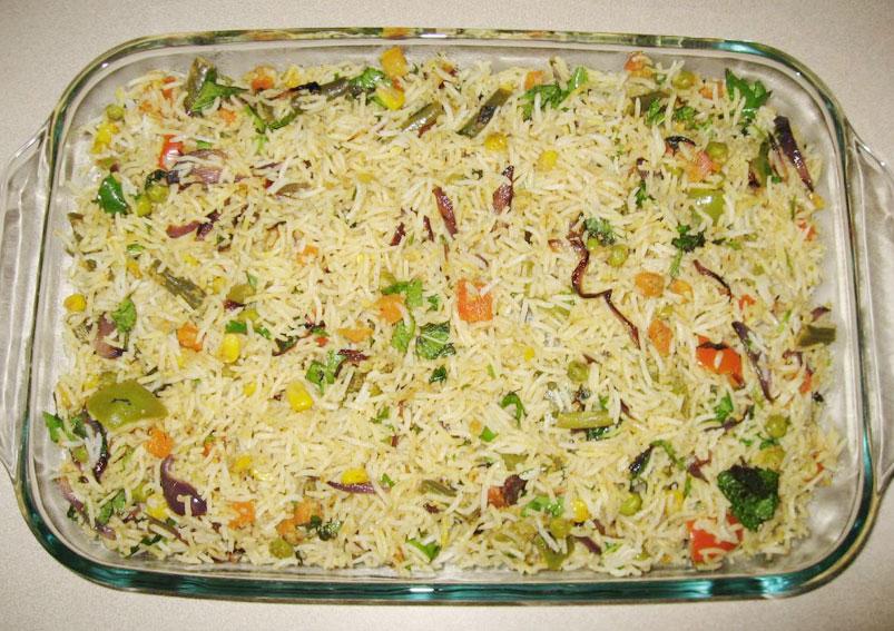 Tasty Sweet Corn Biryani Recipe
