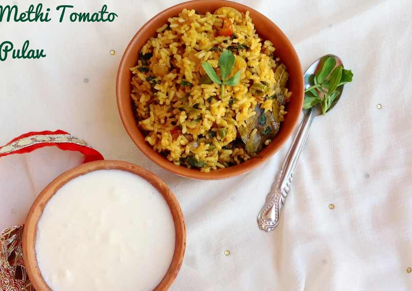 Aloo Methi Curry Recipe - Dry and Spicy Alu Curry with ...