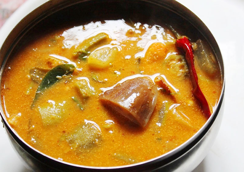 Tasty Udipi Sambar Preparation