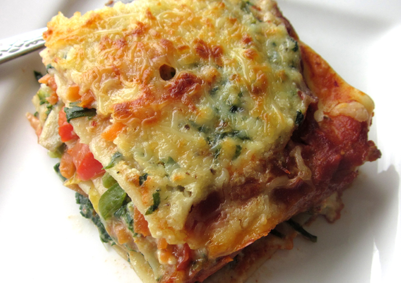 Veg Lasagna Delight Recipe