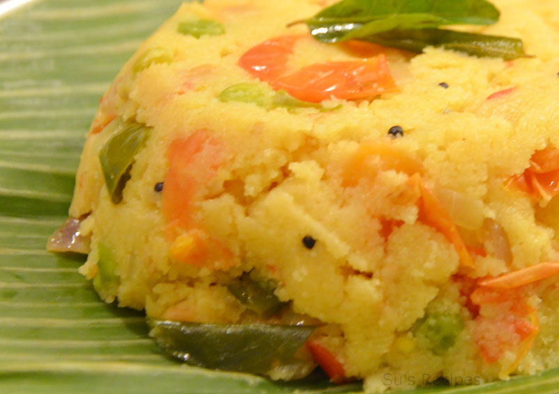 Tasty Vegetable Upma Recipe