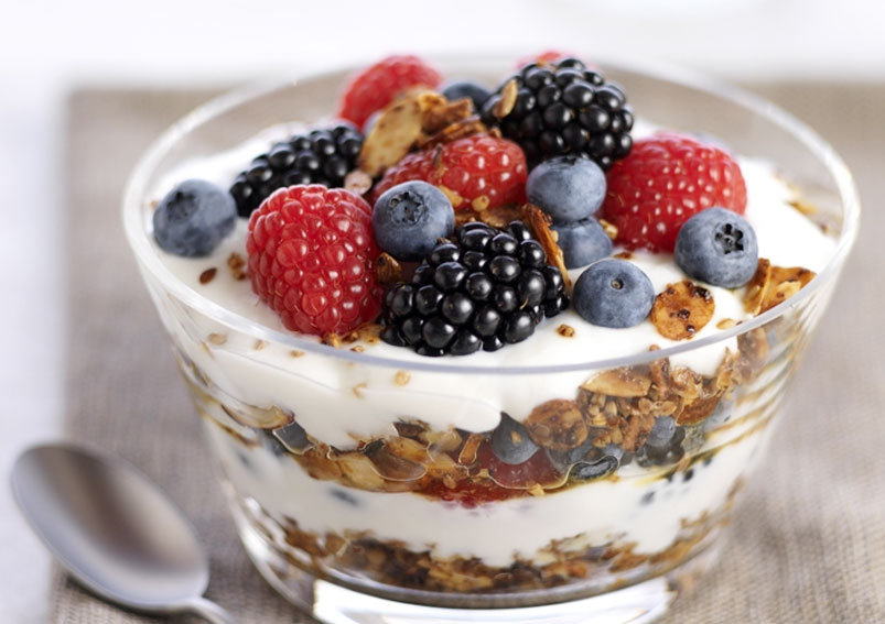 Best Yogurt Mixed Berry Parfait Recipe