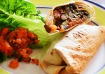 Chatpata Rajma Wrap Recipe