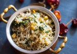 Healthy Corn Methi Pulao Recipe