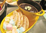 Creamy Caramel Chocolate Fondue Recipe