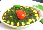 Delicious Corn Palak Recipe | yummyfoodrecipes.in