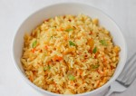 Easy And Tasty Carrot Rice Recipe