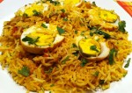 Delicious Egg Pulao Recipe