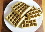 Tasty Green Pea Waffles Recipe
