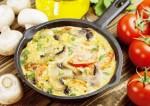 Healthy Mushroom Omelette Recipe