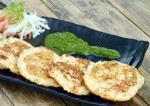 Mini Rava Vegetable Pancake Recipe