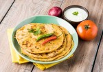 Delicious Mushroom Stuffed Paratha Recipe