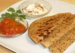 Onion and Paneer Paratha Recipe