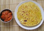 Paneer and Vegetable Paratha Recipe